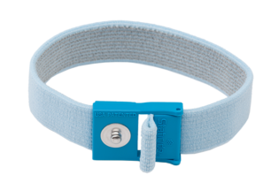 ACL Hypoallergenic ESD Wrist Strap, 4mm