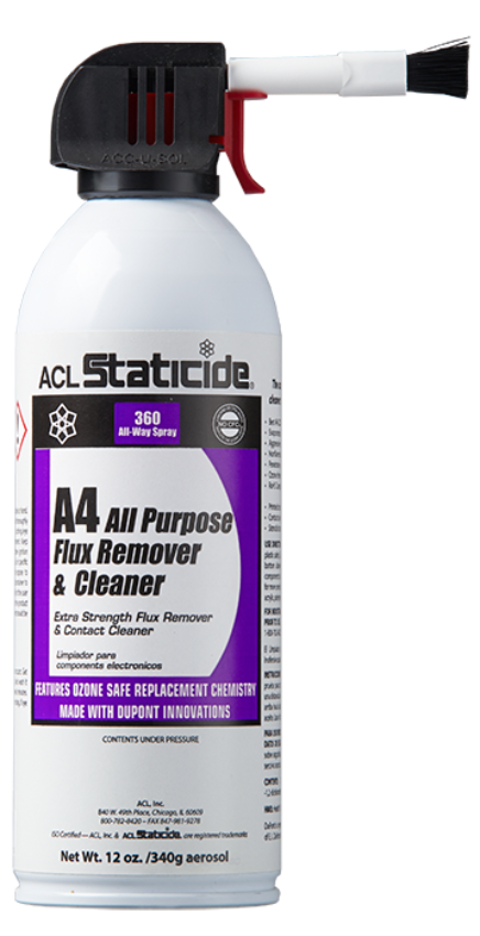 A4 All Purpose Flux Remover and Cleaner
