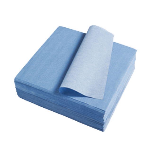 Low-Lint Wipes Blue
