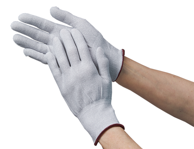 ESD Knit Gloves Without Dipped Tips