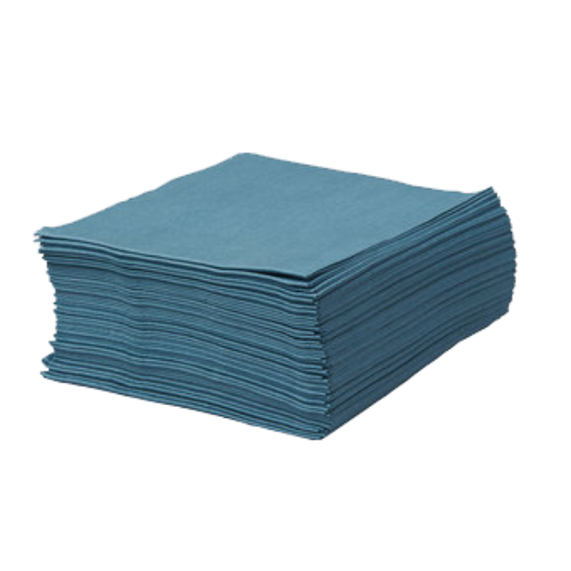 Heavy Duty Low Lint Wipes Blue